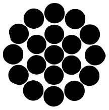 19 Fili / Acciaio Inox Aisi 316 / Norme En 12385-4:2002