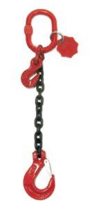 Brache ad 1 braccio con catena nera