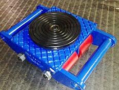 Carrelli da trasporto con piatto rotante - modello CRA