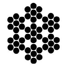 49 Fili / Acciaio Inox Aisi 316 / Norme En 12385-4:2002