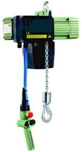 Paranchi elettrici a catena 400V 50Hz con asola di sospensione