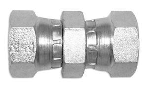 Adattatore diritto - femmina girevole / femmina girevole - gas cilindrico