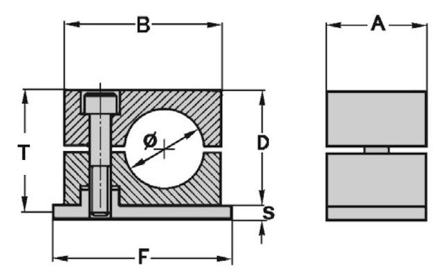 collare-fissatubo-serie-standard-dis-a