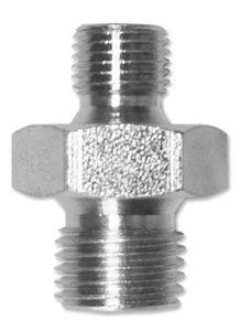 Diritto - maschio / maschio - gas cilindrico
