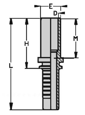 estremita-tubolare-diritta-serie-francese-standard-dis