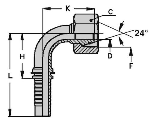femmina-90-metrica-ogiva-24-serie-leggera-dkol-standard-dis