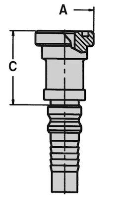 flangia-diritta-sae-j518-3000-psi-codice-61-interlock-dis