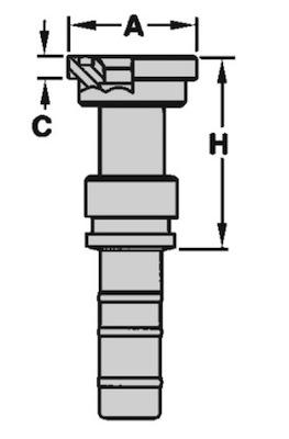 flangia-diritta-sae-j518-3000-psi-codice-61-powertrak-dis