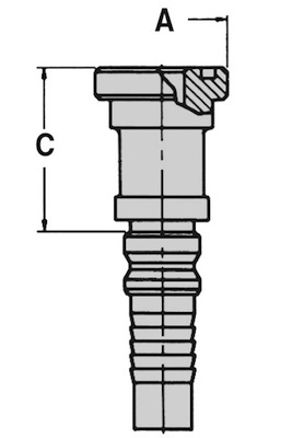 flangia-diritta-sae-j518-6000-psi-codice-62-interlock-dis