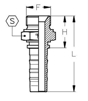 maschio-gas-cilindrico-svasato-60-powerspeed-dis