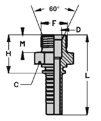maschio-gas-cilindrico-svasato-60-standard-dis