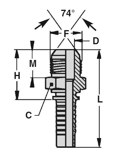 maschio-jic-cono-74-standard-dis