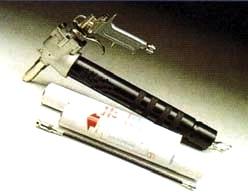 Pistola pneumatica per ingrassaggio