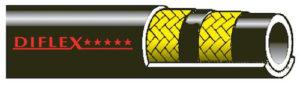 Tubi DIFLEX JET COMPAKT 2SC - Nero - 400 BAR