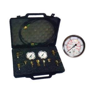 Valigetta con manometri per controllo pressione
