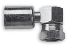 Femmina 90° compatta con O-RING viton - impianti condizionamento