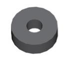 Componente in gomma per freni GBBQ210