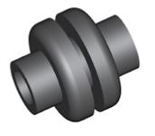 Componente in gomma per freni GBBQ213