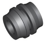 Componente in gomma per freni GBBQ215