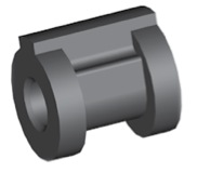 Componente in gomma per freni GBBQ217