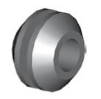 Componente in gomma per freni GBBQ218