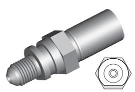 Clip di montaggio (maschio) per freni GBHFIM17
