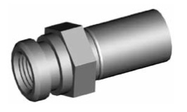Clip di montaggio (sede invertita) per freni GBHFMF01