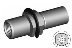 Clip di montaggio (sede invertita) per freni GBHFMF02