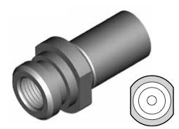 Clip di montaggio (sede invertita) per freni GBHFMF04
