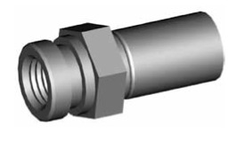 Clip di montaggio (sede invertita) per freni GBHFMF09