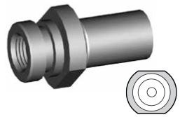 Clip di montaggio (sede invertita) per freni GBHFMF11