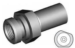 Clip di montaggio (sede invertita) per freni GBHFMF13