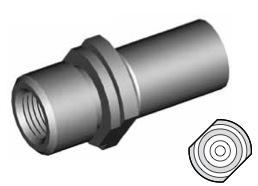 Clip di montaggio (sede invertita) per freni GBHFMF20