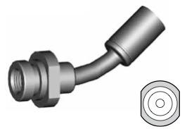 Clip di montaggio (sede invertita) per freni GBHFMF25