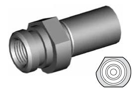 Clip di montaggio (sede invertita) per freni GBHFMF26