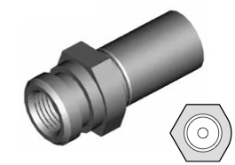 Clip di montaggio (sede invertita) per freni GBHFMF28