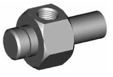 Clip di montaggio (sede invertita) per freni GBHFMF36