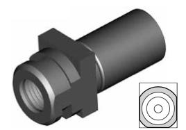 Clip di montaggio (sede invertita) per freni GBHFMF66