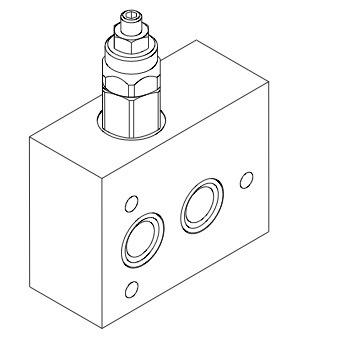 base-per-piastre-componibili-con-valvola-limitatrice-di-pressione-cetop-3