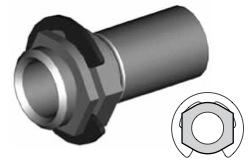 Clip montaggio standard per freni  - GBHFC06