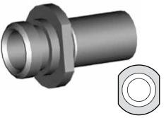 Clip montaggio standard per freni  - GBHFC07