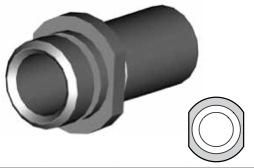 Clip montaggio standard per freni  - GBHFC09