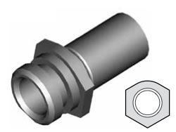 Clip montaggio standard per freni  - GBHFC10