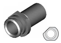 Clip montaggio standard per freni  - GBHFC13