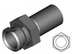 Clip montaggio standard per freni  - GBHFC15