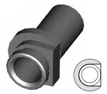 Clip montaggio standard per freni  - GBHFC315