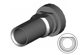 Clip montaggio standard per freni  - GBHFC327