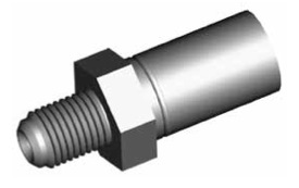 Clip montaggio standard per freni GBHFIM01