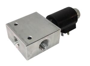Deviatore elettrico 3 vie 350 bar 60 l/min - Acciaio