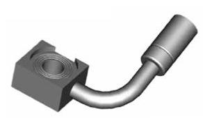 Raccordi ad occhio 10mm per freni  - GBHFB333 - GBHFB332